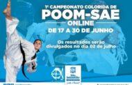 Prefeitura promove 1° Campeonato Colorida de Poom-sae online