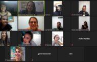 Estudantes do projeto Jovens em Atuação participam de entrevista online sobre artes cênicas e publicidade