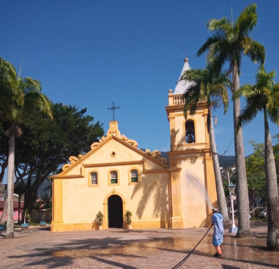 Covid-19: São Sebastião mantém ações de desinfecção nos bairros do município