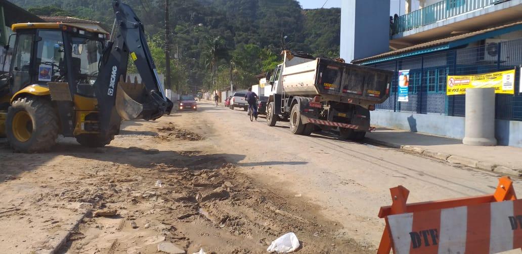 Prefeitura contrata empresa para recapeamento de vias em Boiçucanga