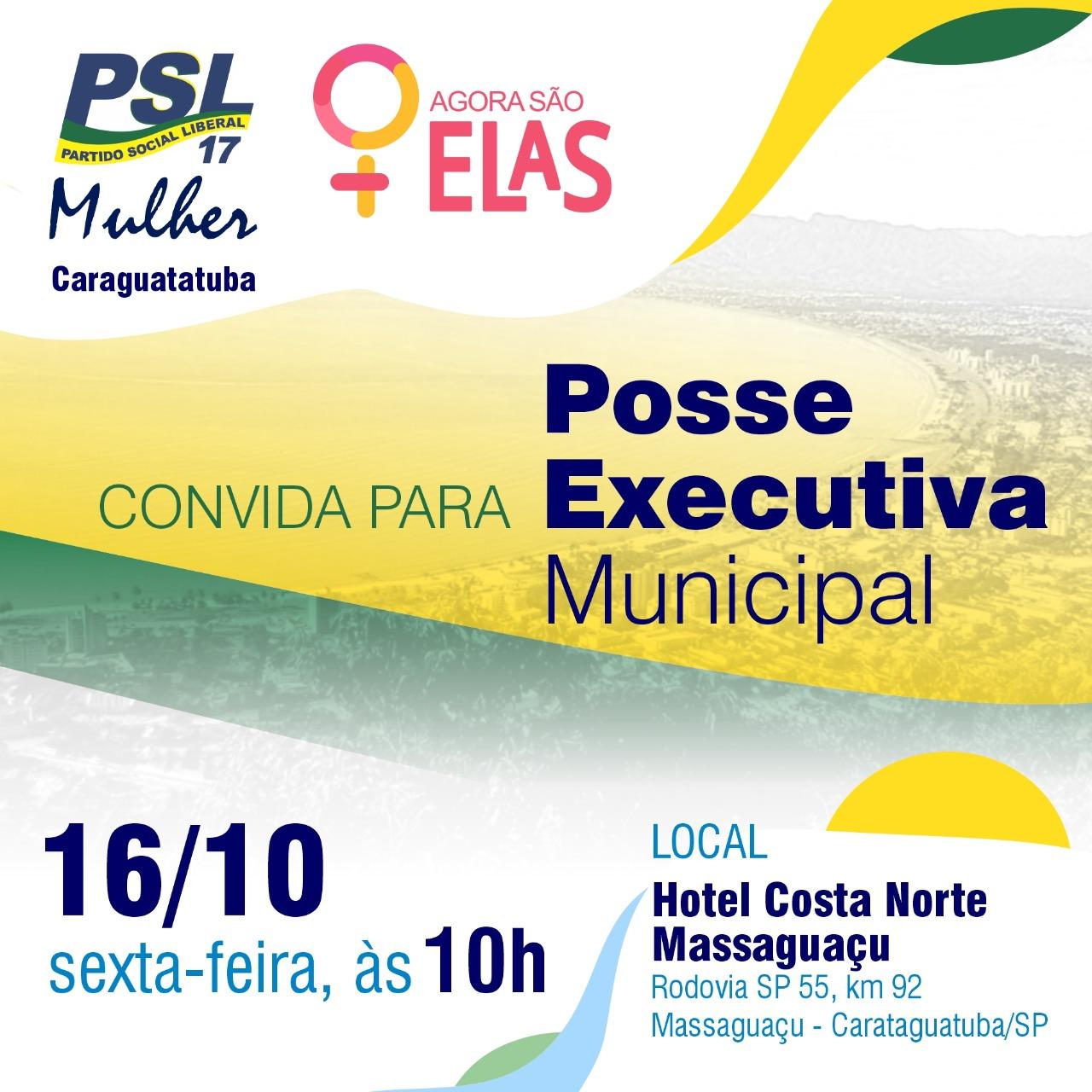 PSL Mulher será lançado oficialmente em Caraguá e São Sebastião