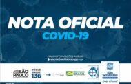 NOTA OFICIAL: São Sebastião registra mais dois óbitos por Covid-19 no município