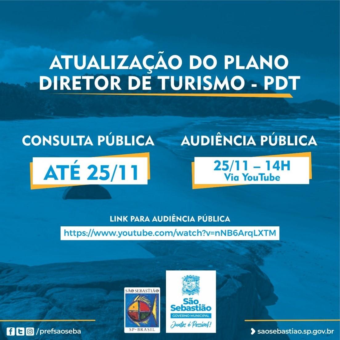 Prefeitura abre consulta pública do Plano Diretor de Turismo de São Sebastião