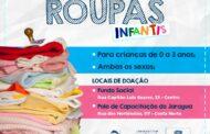 Fundo Social de São Sebastião reforça campanha de arrecadação de roupas infantis