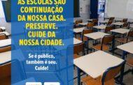 Escola Municipal de São Sebastião é alvo de vandalismo
