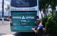 GCM autua ônibus irregular que trafegava pela cidade sem autorização