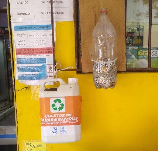 Prefeitura coleta 7,5 Kg de pilhas em campanha de descarte adequado
