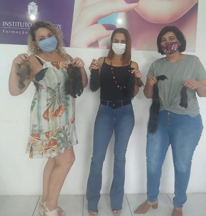 Prefeitura de São Sebastião recebe doação para confecção de perucas destinadas a pacientes com câncer
