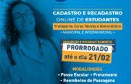 Em São Sebastião, Educação prorroga prazo de cadastro e recadastro de estudantes do transporte técnico e universitário