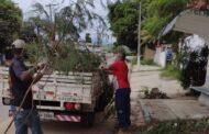 Em São Sebastião, SESEP Regional Centro realiza a manutenção dos bairros de Guaecá a São Francisco