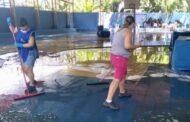 Prefeitura realiza mutirão de limpeza nas escolas e creches municipais
