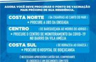 São Sebastião antecipa campanha de vacinação contra Covid-19 para pessoas de 77 a 79 anos