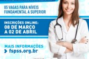 Fundação de Saúde Pública de São Sebastião abre concursos com 85 vagas