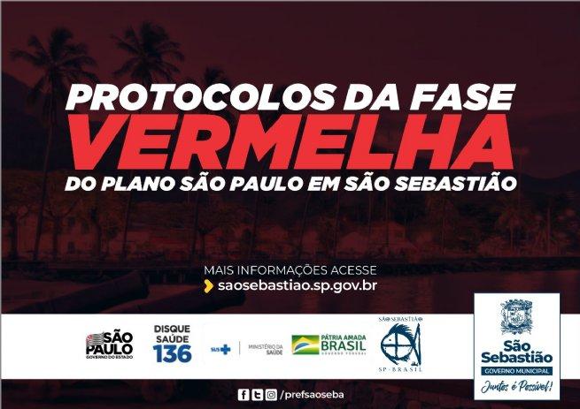 São Sebastião retorna à Fase Vermelha do Plano SP
