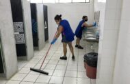 Prefeitura de São Sebastião realiza mutirão de limpeza nas escolas e creches municipais