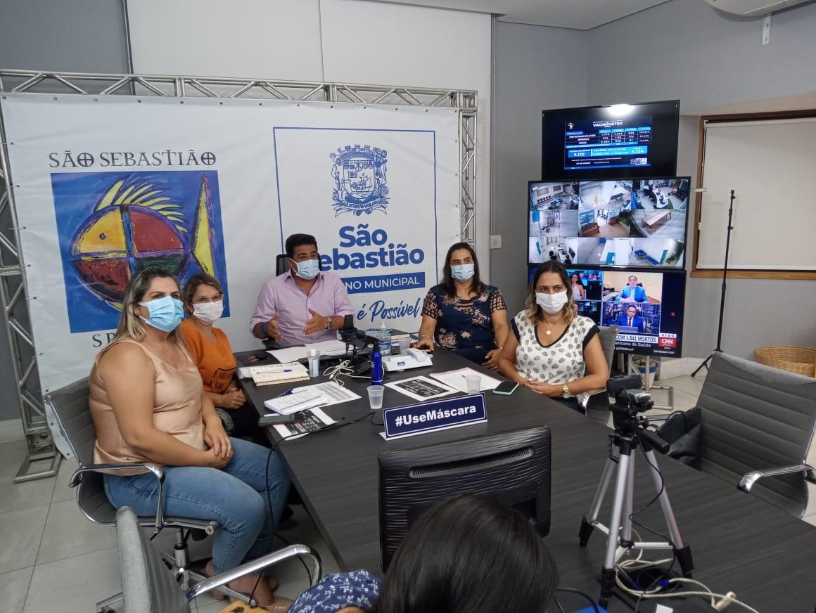 Felipe Augusto anuncia realização de testes rápidos em massa para detecção da Covid-19