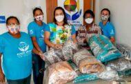 Secretaria da Educação faz doação de cobertores para o Fundo Social de São Sebastião