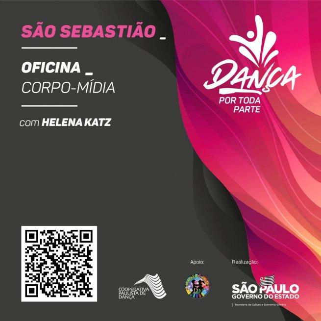 Cooperativa Paulista de Dança oferece oficina gratuita online para a cidade de São Sebastião