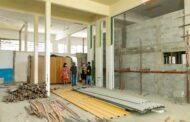 Secretaria da Educação inspeciona obras da futura sede no Centro de São Sebastião