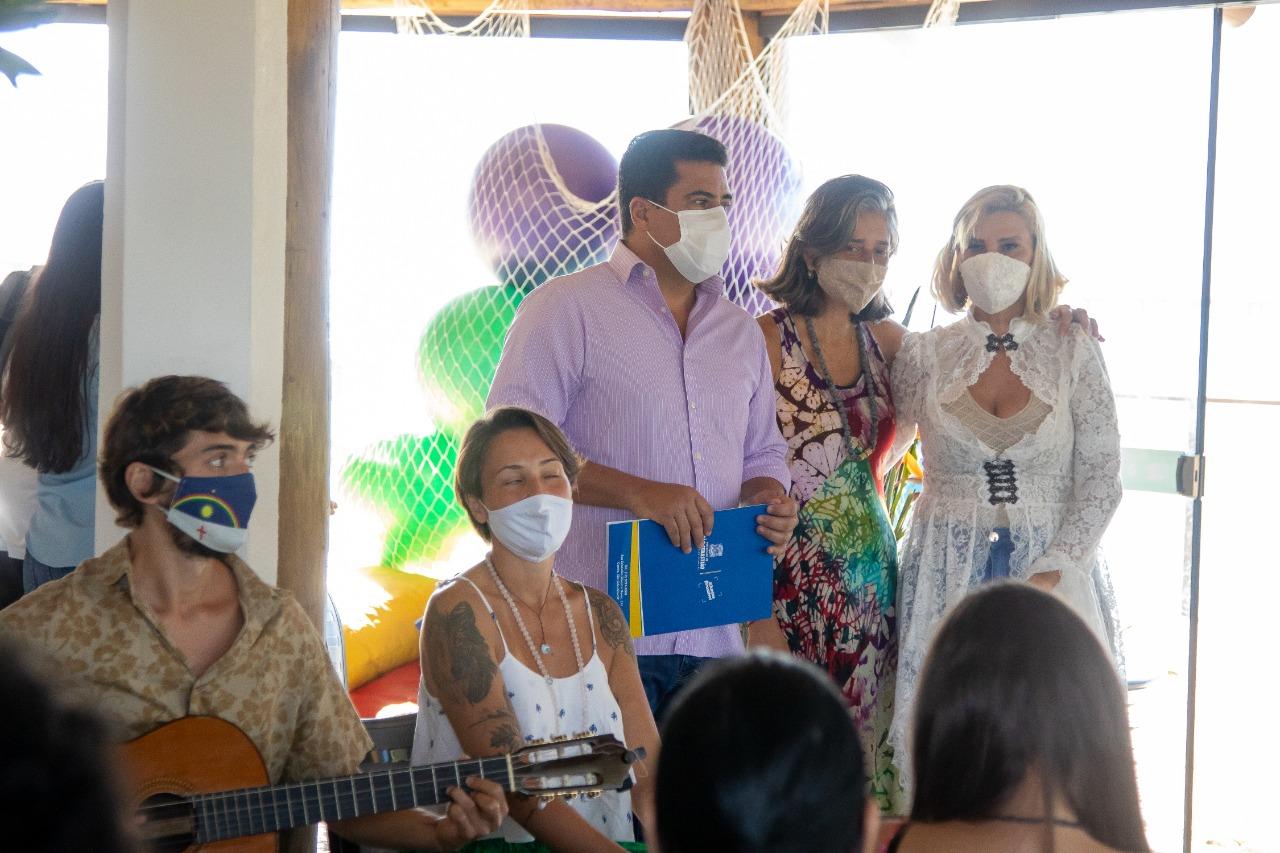Felipe Augusto participa da abertura do curso de formação de doulas voluntárias do SUS