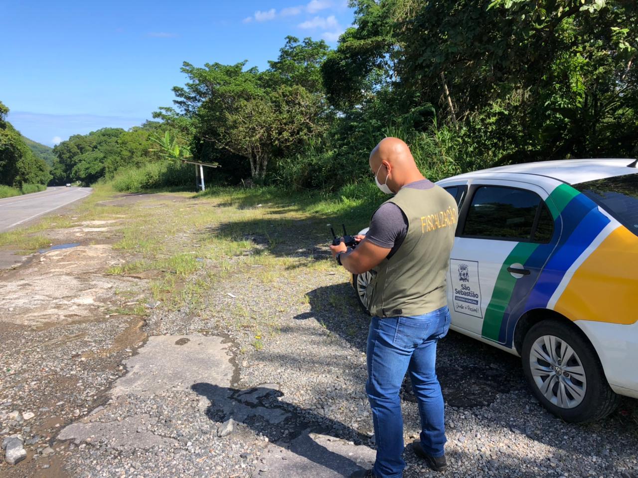 Prefeitura de São Sebastião intensifica fiscalizações em áreas de preservação