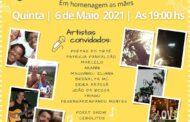 Sarau D'Amelinha virtual reúne artistas locais em live nesta quinta-feira (6) em São Sebastião