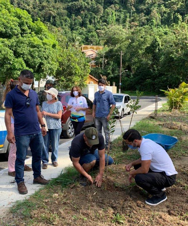 Prefeitura e Associação Cigarras Viva realizam plantio na Semana do Meio Ambiente