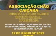 Ateliê Nicinho Artesanato Caiçara e Associação Chão Caiçara apresentam suas propostas da Lei Aldir Blanc