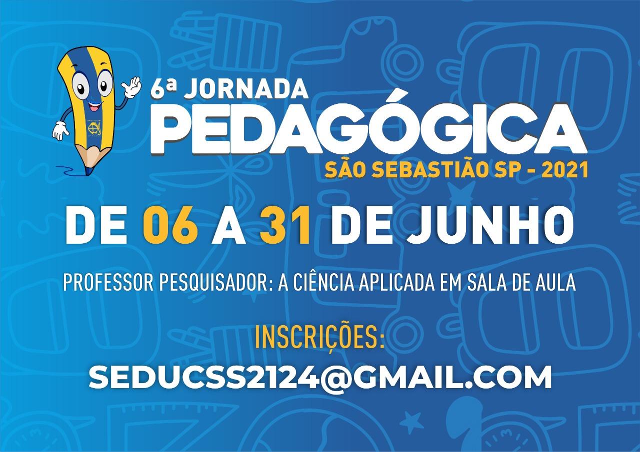 Prefeitura de São Sebastião prepara Jornada Pedagógica e abre inscrições para professor pesquisador
