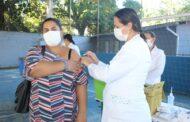 São Sebastião vacina contra a Covid-19 mais de 400 gestantes e puérperas