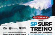 Prefeitura de São Sebastião recebe 1ª etapa do Surf Treino na Praia de Cambury