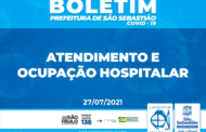 Prefeitura de São Sebastião - Boletim de Atendimento e Ocupação Hospitalar