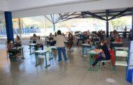 Professores da rede municipal de São Sebastião retornam às escolas para volta ao ensino presencial
