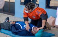 Defesa Civil de São Sebastião conclui segunda etapa de treinamento de resgate urbano a professores da Secretaria de Esportes