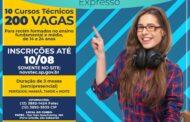 Prefeitura abre inscrições para 10 cursos gratuitos doPrograma Novotec Expresso