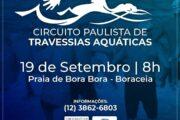 Circuito Paulista de Travessias Aquáticas será realizado na praia de Bora Bora em São Sebastião